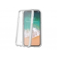 Funda Movil Back Cover Celly Hexagon Transparente para iPhone X / XS