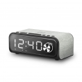 Radio Despertador Energy Clock Speaker 4 Wireless Charge Bluetooth QI USB Micro SD Radio FM