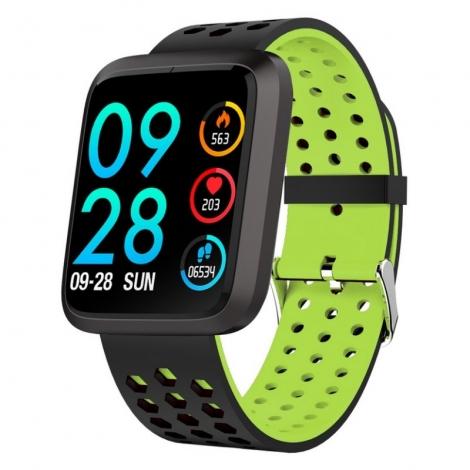 Smartwatch Brigmton BSPORT-18 IP67 1.3'' Green