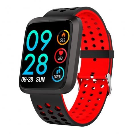 Smartwatch Brigmton BSPORT-18 IP67 1.3'' red