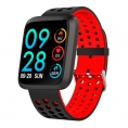 Smartwatch Brigmton BSPORT-18 IP67 1.3'' red