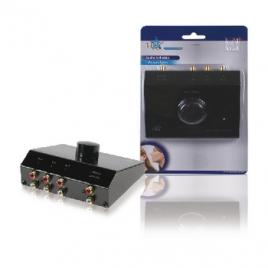 Conmutador Kablex Audio 3X1 RCA