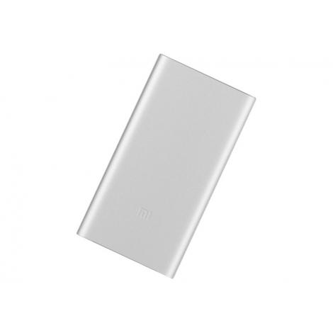 Bateria Externa Universal Xiaomi mi Power Bank 2 5.000MAH 2A USB Silver