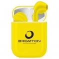 Auricular + MIC Brigmton BML-18 Yellow