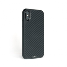Funda Movil Back Cover Mous Limitless 2.0 Fivre Kevlar Carbon iPhone XS MAX