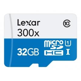 Memoria Micro SD Lexar 32GB Class 10 45Mpbs