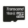 Memoria Micro SD Transcend 16GB Class 4 + Adaptador SD