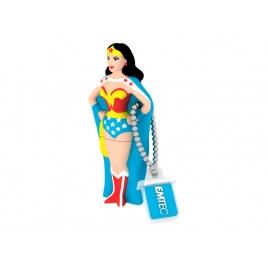 Memoria USB Emtec 8GB Super Heroes Wonderwoman