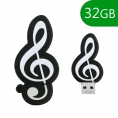 Memoria USB HT Figuras 32GB Clave de SOL