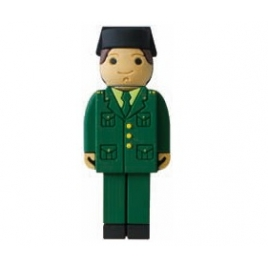 Memoria USB HT Personajes 8GB Guardia Civil Paseo