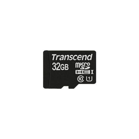 Memoria Micro SD Transcend 32GB Class 10 + Adaptador SD