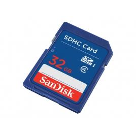 Memoria SD Sandisk 32GB High Class 4