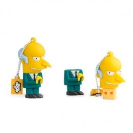 Memoria USB Silver HT 8GB THE Simpsons SR. Burns