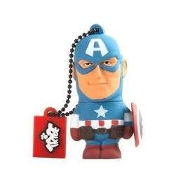 Memoria USB Silver HT 8GB Superheroes Capitan America