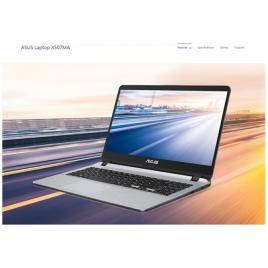 "Portatil Asus Vivobook X507MA-BR265T CEL N4000 4GB 256GB SSD 15.6"" HD W10 Grey"