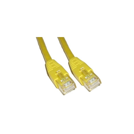 Cable Kablex red RJ45 CAT 6 0.5M Yellow
