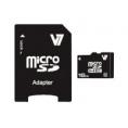 Memoria Micro SD V7 16GB Class 10 + Adaptador