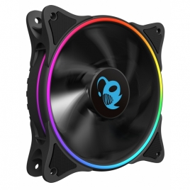 Ventilador 12CM 120X120c25mm Deep Gaming Iris RGB Doble