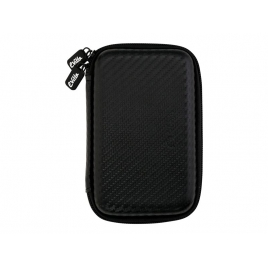 "Funda Disco Duro E-VITTA Carbon Fiber 2.5"" Black"