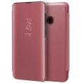 Funda Movil Cool Flip Cover Clear View Pink para Samsung Galaxy A20E A202
