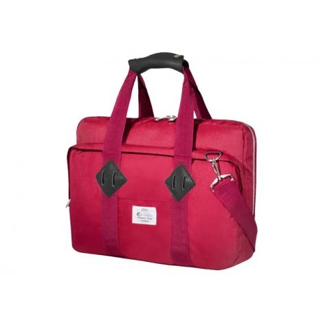 """Maletin Portatil E-VITTA 16"""" Messenger Laptop red"""