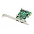 Controladora PCIE Conceptronic USB 3.0 2P + Sata Alimentacion