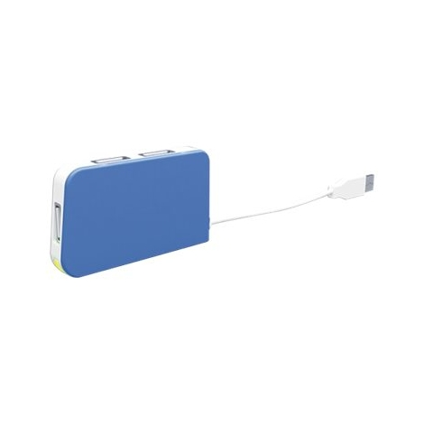 HUB Approx USB 4 Puertos Blue