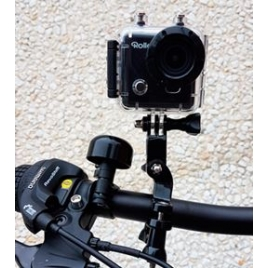 Soporte Action CAM Rollei Bike Mount Compatible Gopro