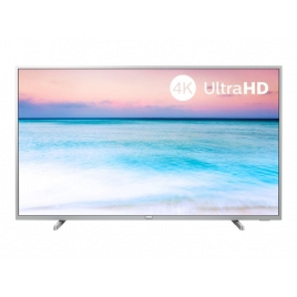 "Television Philips 55"" LED 55PUS6554 4K UHD Smart TV Silver"