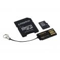 Memoria Micro SD Kingston 32GB Class 10 + Adaptador SD + Lector Tarjeta