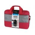 "Maletin Portatil E-VITTA 15.6"" Select Pack red + Mouse Wireless Black"
