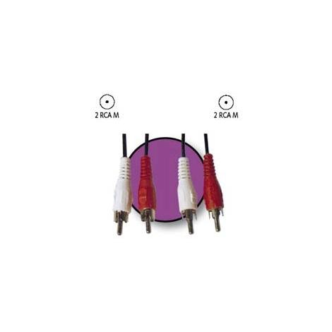 Cable Kablex 2X RCA Macho / 2X RCA Macho 1.5M