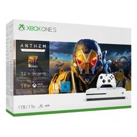 Consola Xbox ONE S 1TB White + Anthem: Legion del Alba ED Especial