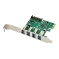 Controladora PCIE Conceptronic USB 3.0 4P + Sata Alimentacion
