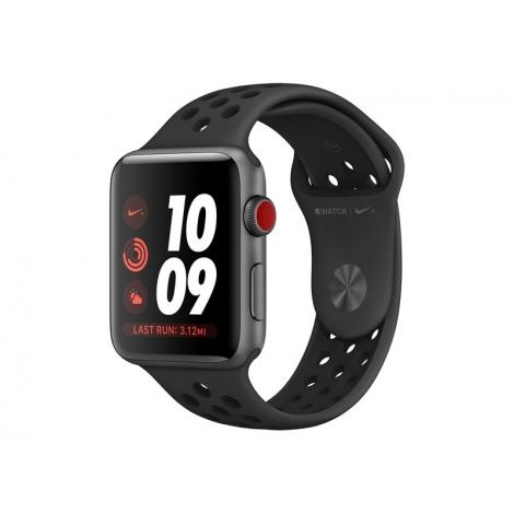 Apple Watch Nike+ Serie 3 GPS + 4G 38MM Space Grey Aluminium + Correa Nike Sport Anthracite/Black