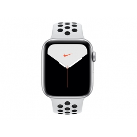 Apple Watch Nike+ Serie 5 GPS + 4G 44MM Silver Aluminium + Correa Nike Sport Pure Platinum/Black