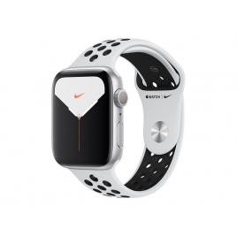 Apple Watch Nike+ Serie 5 GPS 44MM Silver Aluminium + Correa Nike Sport Pure Platinum/Black