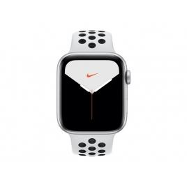 Apple Watch Nike+ Serie 5 GPS 44MM Silver Aluminium + Correa Nike Sport Pure Platinum/Black