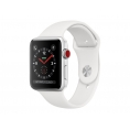 Apple Watch Serie 3 GPS + 4G 38MM Silver Aluminium + Correa Sport White