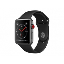 Apple Watch Serie 3 GPS + 4G 38MM Space Grey Aluminium + Correa Sport Black