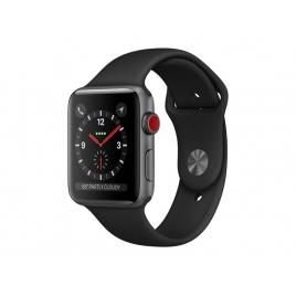 Apple Watch Serie 3 GPS + 4G 38MM Space Grey Aluminium + Correa Sport Black