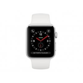 Apple Watch Serie 3 GPS + 4G 42MM Silver Aluminium + Correa Sport White