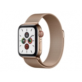 Apple Watch Serie 5 GPS + 4G 40MM Gold Stainless Steel + Correa Milanese Loop Gold
