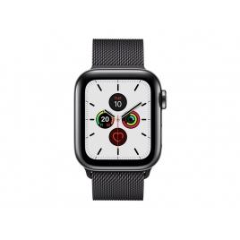 Apple Watch Serie 5 GPS + 4G 40MM Space Black Stainless Steel + Correa Milanese Loop Space Black