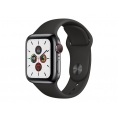 Apple Watch Serie 5 GPS + 4G 40MM Space Black Stainless Steel + Correa Sport Black