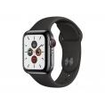 Apple Watch Serie 5 GPS + 4G 40MM Space Black Stainless Steel + Correa Sport Black