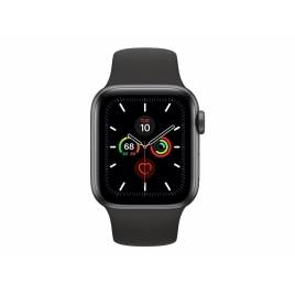 Apple Watch Serie 5 GPS + 4G 40MM Space Grey Aluminium + Correa Sport Black