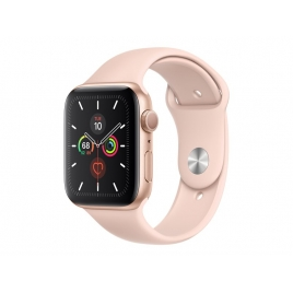 Apple Watch Serie 5 GPS + 4G 44MM Gold Aluminium + Correa Sport Pink Sand
