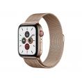 Apple Watch Serie 5 GPS + 4G 44MM Gold Stainless Steel + Correa Milanese Loop Gold
