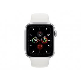 Apple Watch Serie 5 GPS + 4G 44MM Silver Aluminium + Correa Sport White
